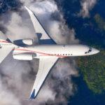 Luxaviation UK получил новый Falcon 2000LXS