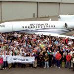 Dassault сделал 100 Falcon 7X