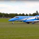 PC-24 прилетел на Фестиваль скорости в Гудвуде