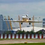 Falcon 7X установил рекорд скорости между Нью-Йорком и Лондоном